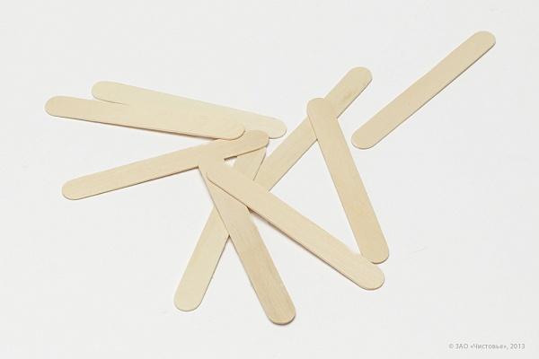 Купить одноразовые деревянные шпатели