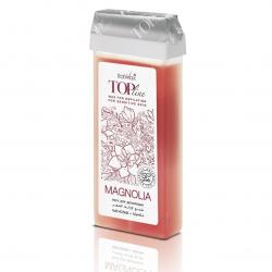 Гибридный тёплый воск в картридже ItalWax Top Line Magnolia (Магнолия), 100мл