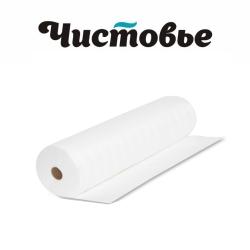 Простыни в рулоне Чистовье Белые (СМС 20) 80х200 20г/м, 100шт