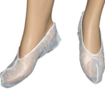 Бахилы-Носочки нетканые (спанбонд) 100 пар/уп. размер L
