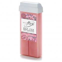 Тёплый воск в картридже ItalWax Flex Кремовая Роза, 100мл