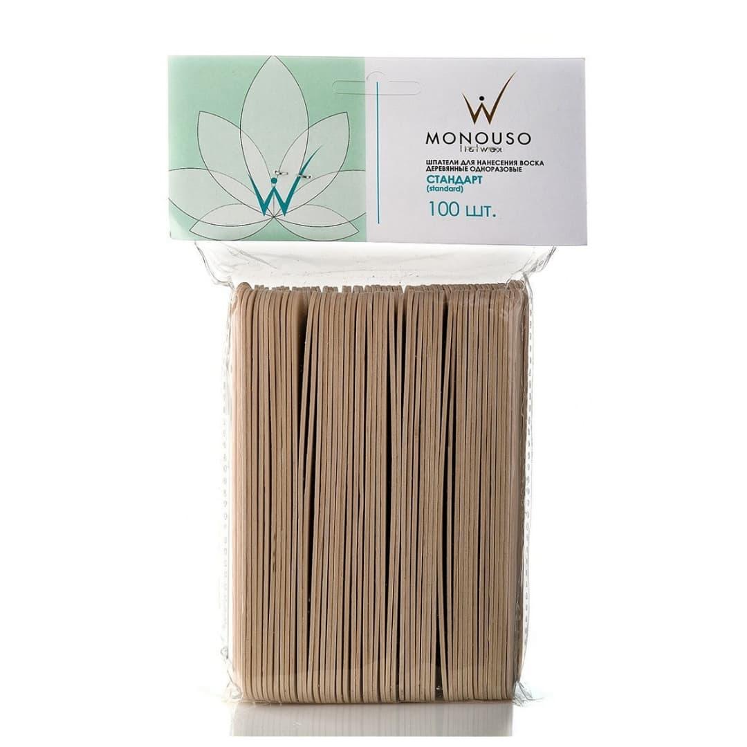 Шпатели деревянные ItalWax Стандарт 14x140мм 100шт