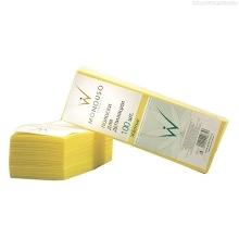 Полоски для депиляции, желтые,   7*20 см, ItalWax, 100 шт